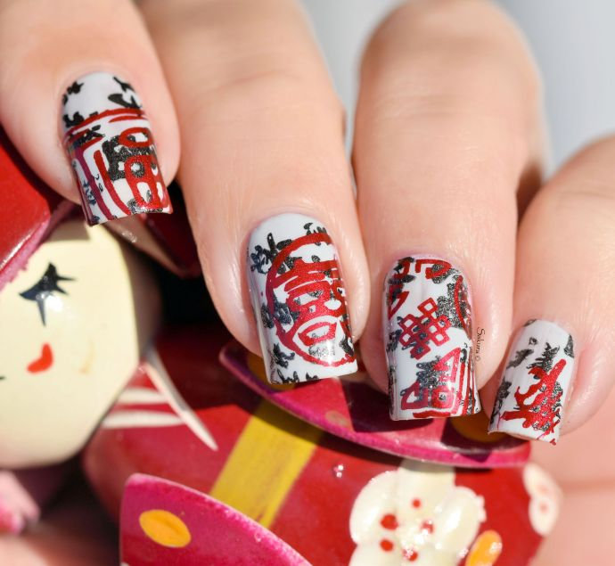 NAIL ART STAMPING YOURS ANNALEE 4