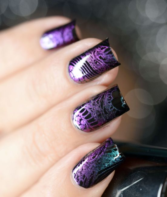 NAIL ART STAMPING YOURS ANNALEE 6