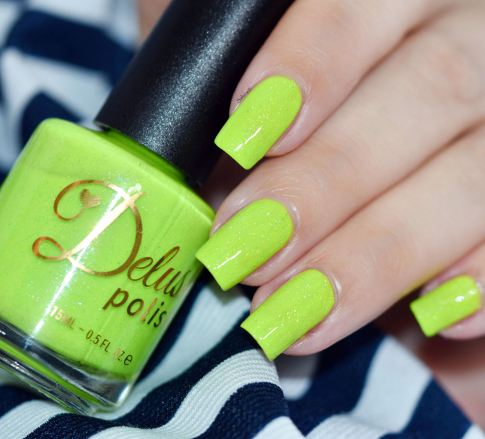 DELUSH POLISH DONT GET IT CITRUS 5