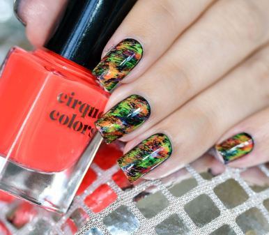 NAIL ART GRAFFITIS FLUOS 14