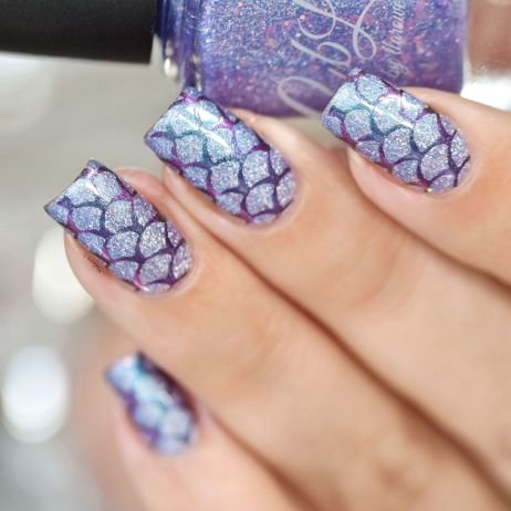 NAIL ART MERMAID 4