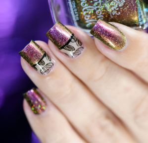 NAIL ART GOOD FORTUNE 2