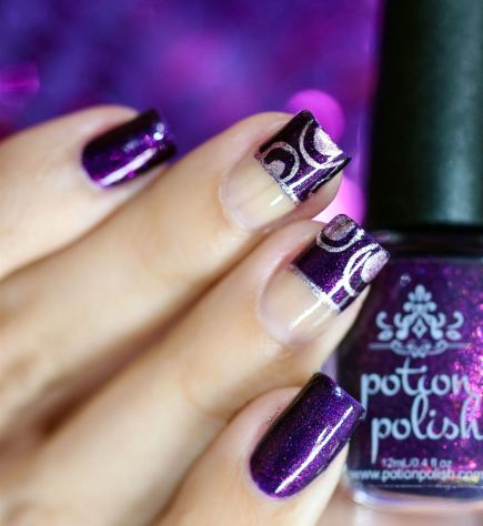 NAIL ART LOVE POTION 9