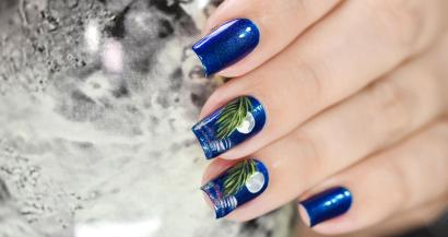 NAIL ART MOONLIGHT ON THE WATER 5