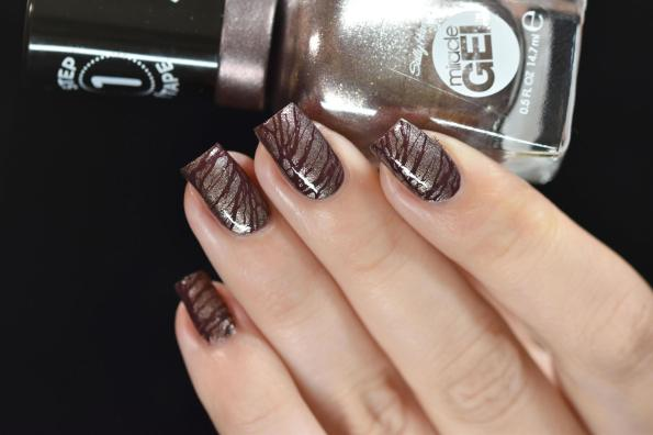 NAIL ART CHOCOLATE 4