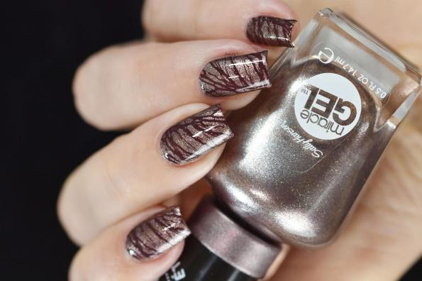 NAIL ART CHOCOLATE 5