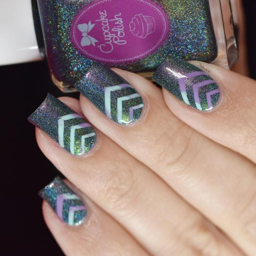 NAIL ART CHEVRONS 3