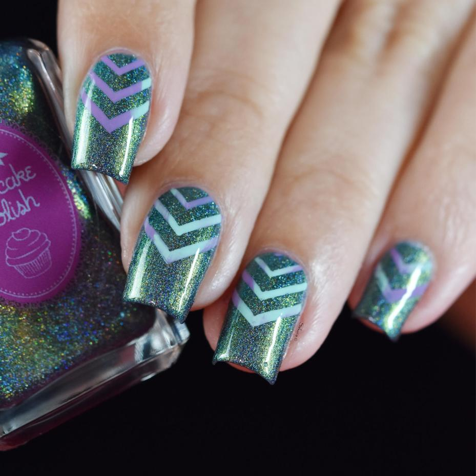 NAIL ART CHEVRONS 8