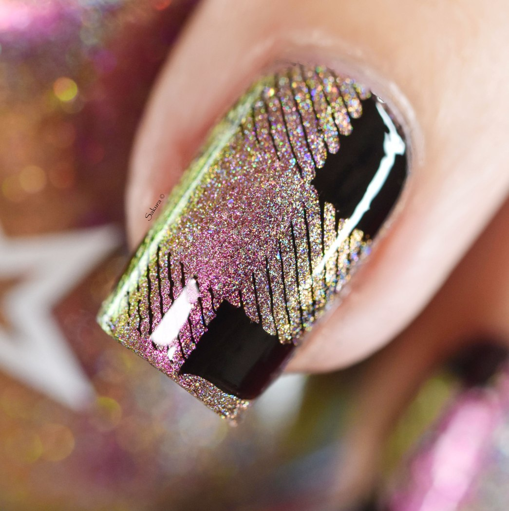 NAIL ART PLAID 3