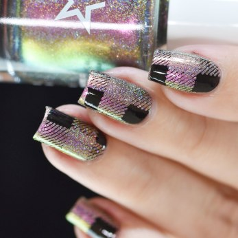 NAIL ART PLAID