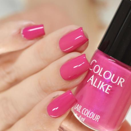 COLOUR ALIKE PINK PEACOCK 4