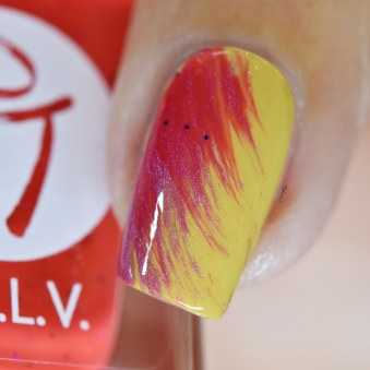 NAIL ART DRY BRUSH LCVL SUMMER 4