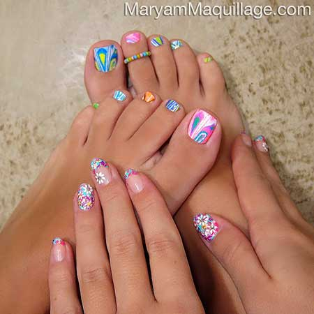 Cool Toe Nail Designs 2017
