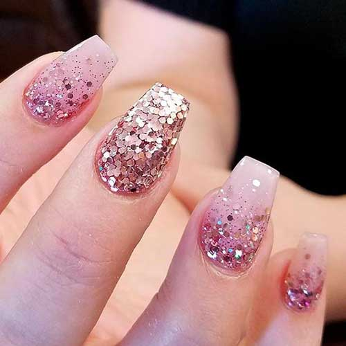 Geous Glittered Nail Designs For A New Style Arts Prinsesfo Choice Image