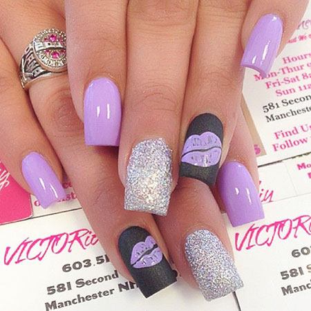 19 Nail Art Ideas For Spring 2017 2017112945