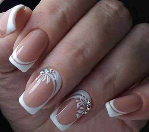 20 Awesome French Manicure Designs Nail Art Designs 2020