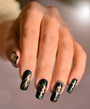 NAIL ART FOILS ABSTRAIT 2