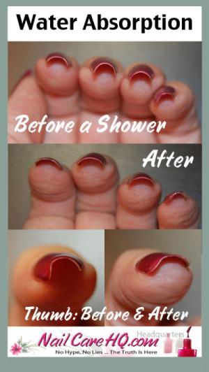 Chipped Nail Polish - Water Absorption 2