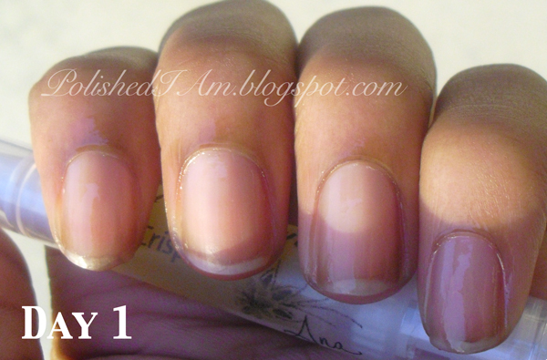 Nailcarehq Ling Nails Marie Claire S Pure Nail Oil Challenge Results