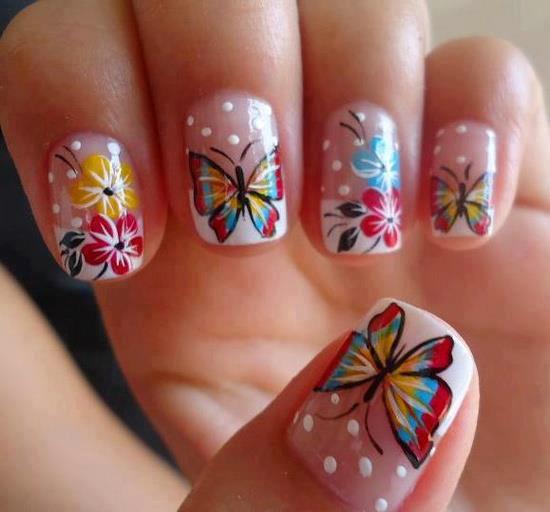 Butterfly Nail Art