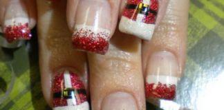 Elegant Christmas nails