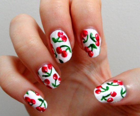 Fruit Nail Art