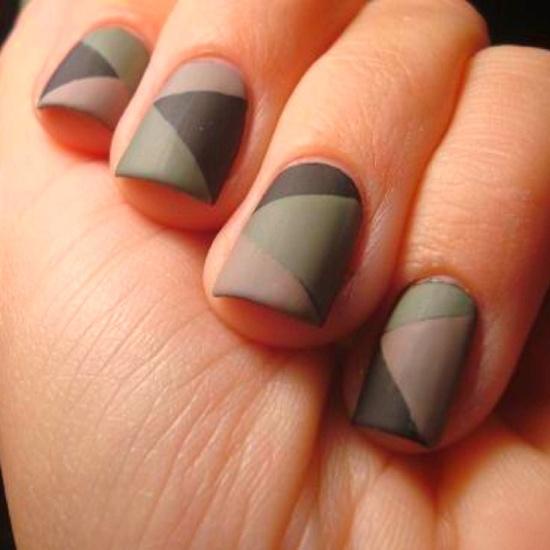 Matte Nail Art Ideas