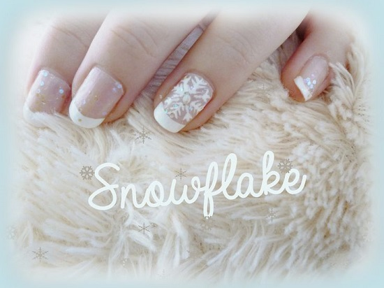Snowflake Nails