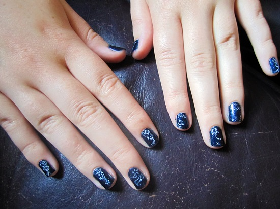 Blue Nail Art Ideas