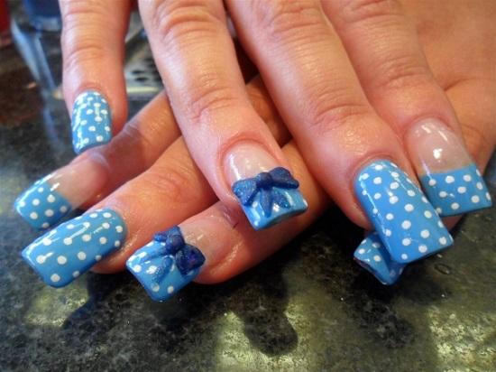 Blue Nail Art Ideas