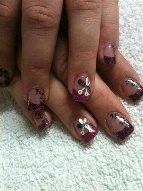 Negative Space Nail Designs
