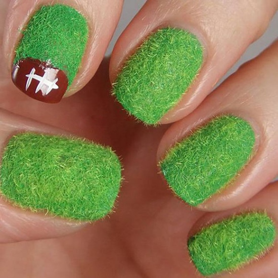 Football Nail Art Designs