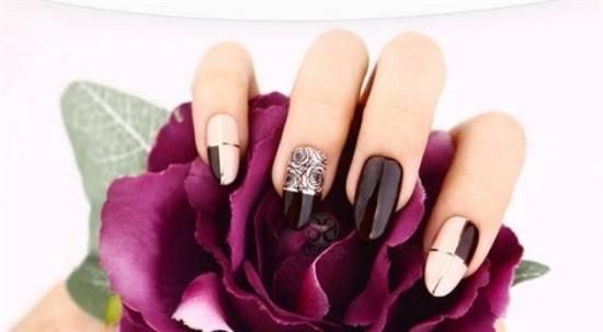 Burgundy Nails