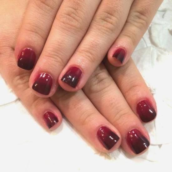 Burgundy Nail Designs