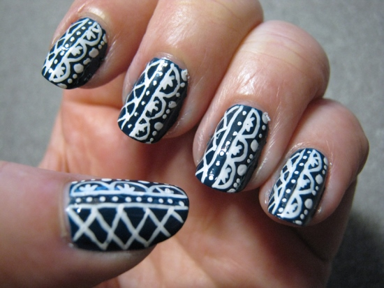 Lace Nail Designs