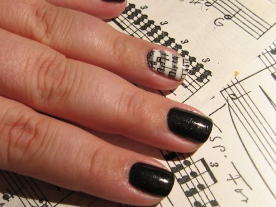 Music Nail Designs