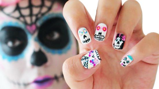 Skull Nail Art Ideas