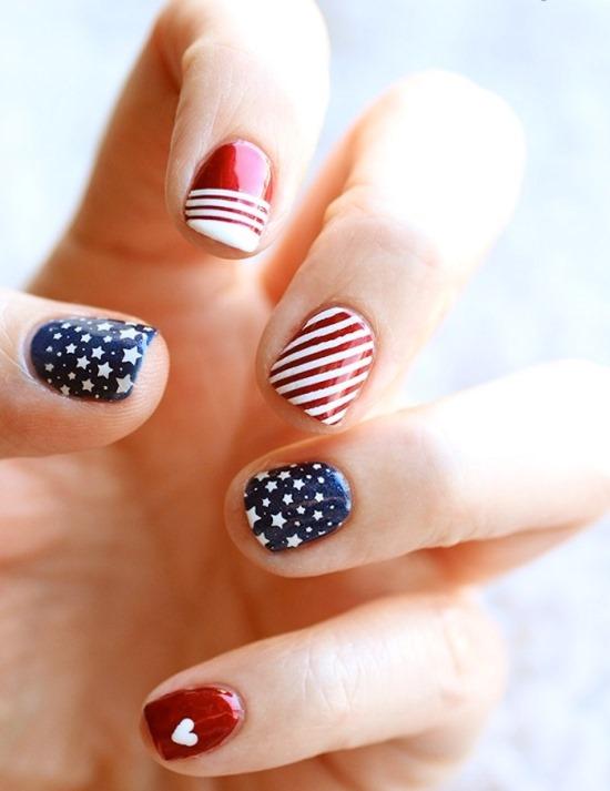 4th of July Nail Art Ideas