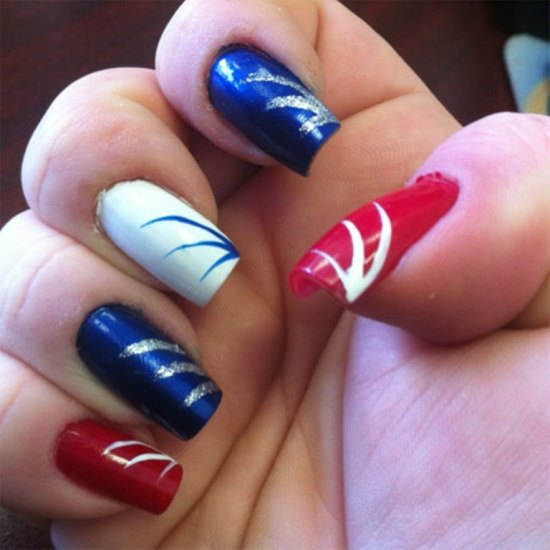 4th Of July Nails