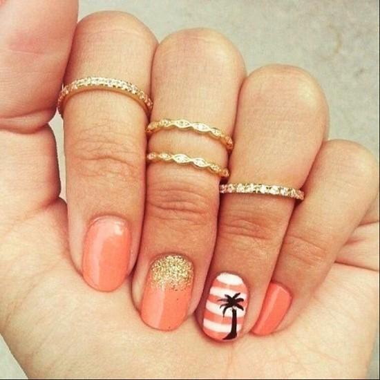 Tropical Nail Designs