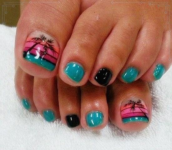 Bahamas Nail Art