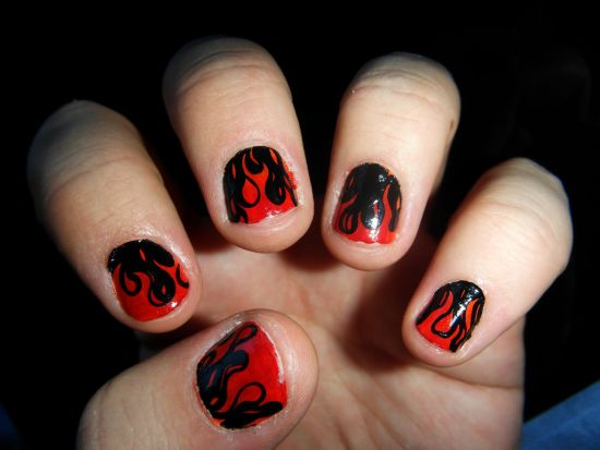 Great Nail Art Red And White Thick Home Cures For Nail Fungus Shaped Where To Buy Incoco Nail Polish Strips Marble Nail Art Steps Young Www.nail Art 101.com BlueSimple And Easy Nail Art Videos 35 Stunning Two Tone Nails Designs | Nail Design Ideaz