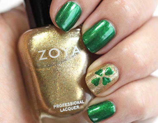 Irish Nail Art