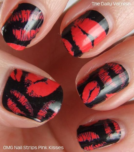 Unusual Nail Art Red And White Huge Home Cures For Nail Fungus Clean Where To Buy Incoco Nail Polish Strips Marble Nail Art Steps Young Www.nail Art 101.com YellowSimple And Easy Nail Art Videos 35 Stunning Two Tone Nails Designs | Nail Design Ideaz