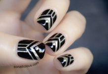 Gold Nail Art Designs
