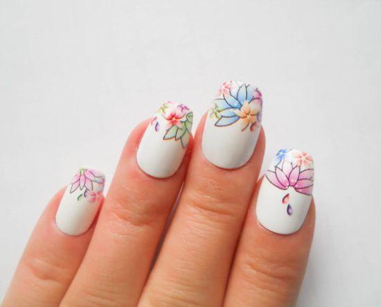 Pastel Nail Art Designs