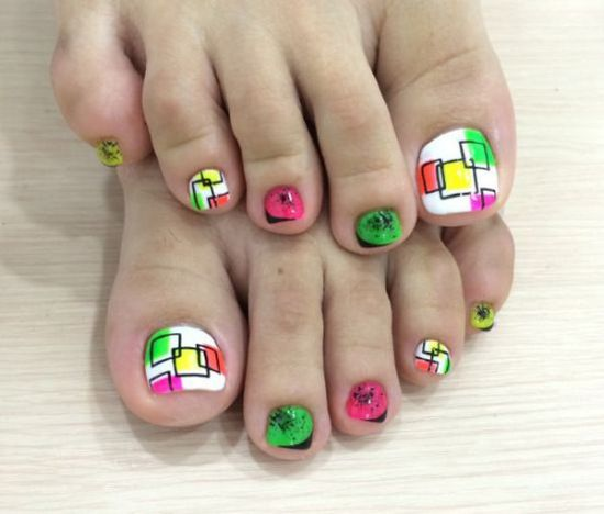 Yellow Nail Polish Toenails: 37 Pedicure Nail Art Designs That Will Blow Your Mind
