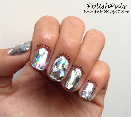 Metallic Nail Polish Silver: 35 Gorgeous Metallic Nail Polish Designs