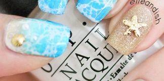 Stunning Beach Nail Design