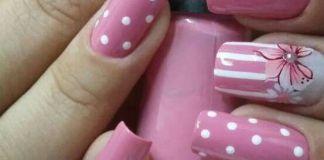 Super Chic Pink Nail Design